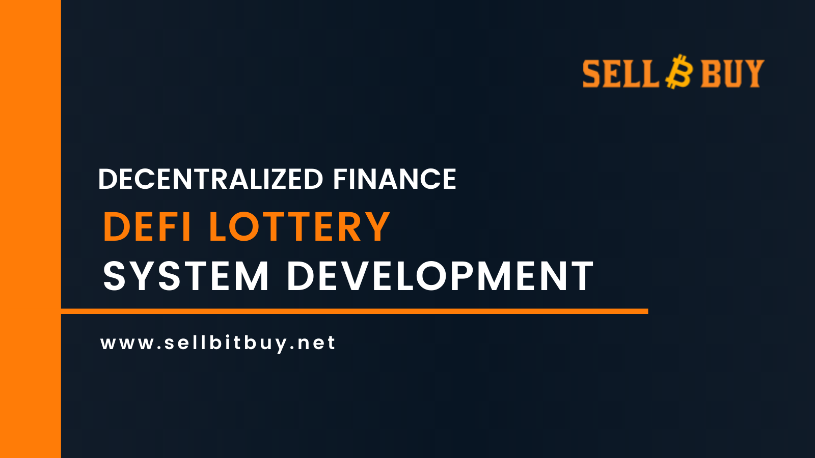 Decentralized Finance (DeFi) Lottery System Development