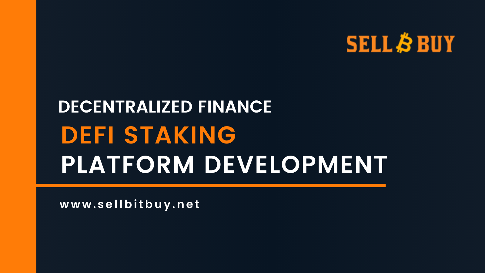 DeFi Staking Platform Development Services & Solutions Company
