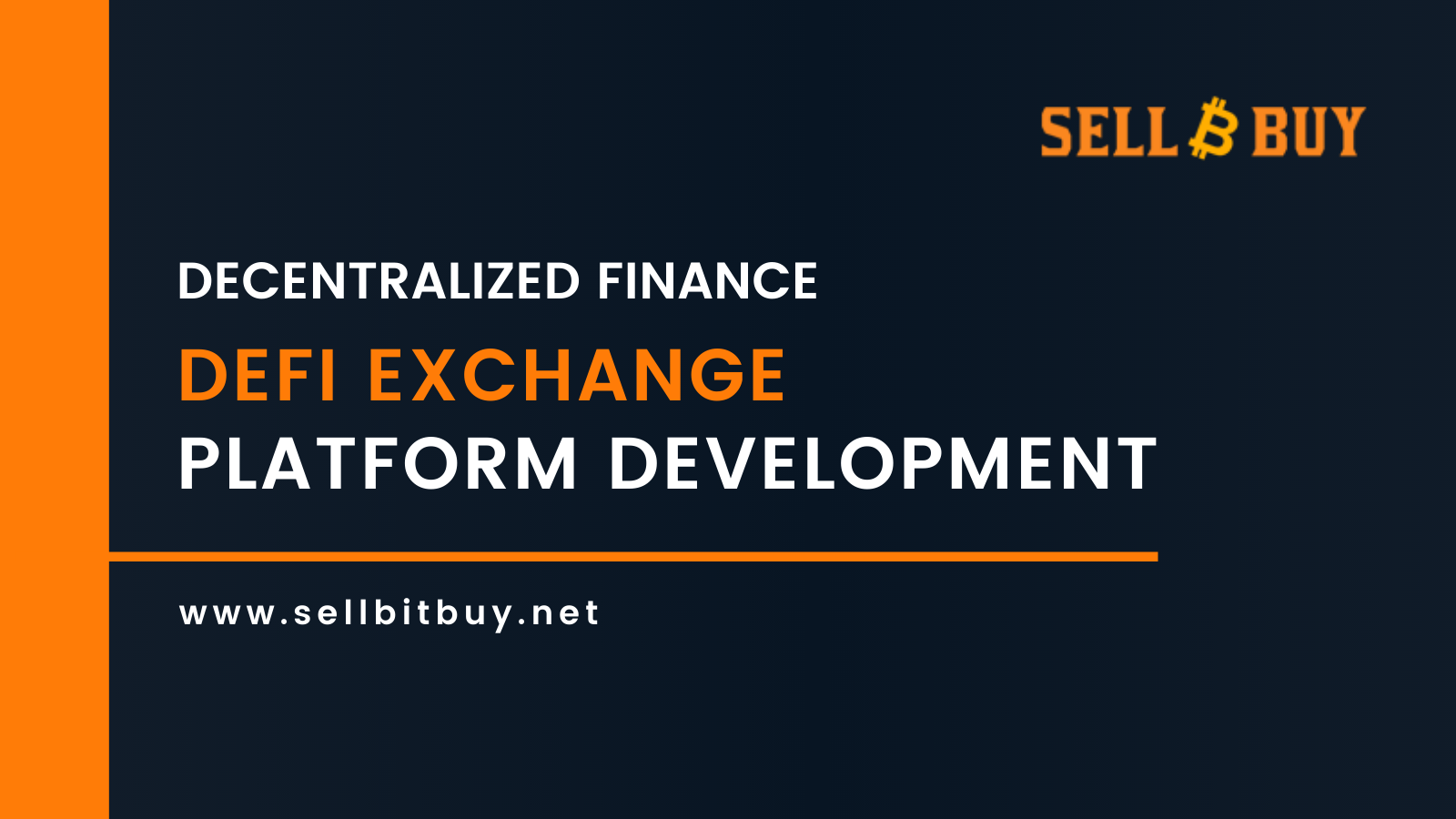 DeFi Decentralized Exchange Platform Development Company