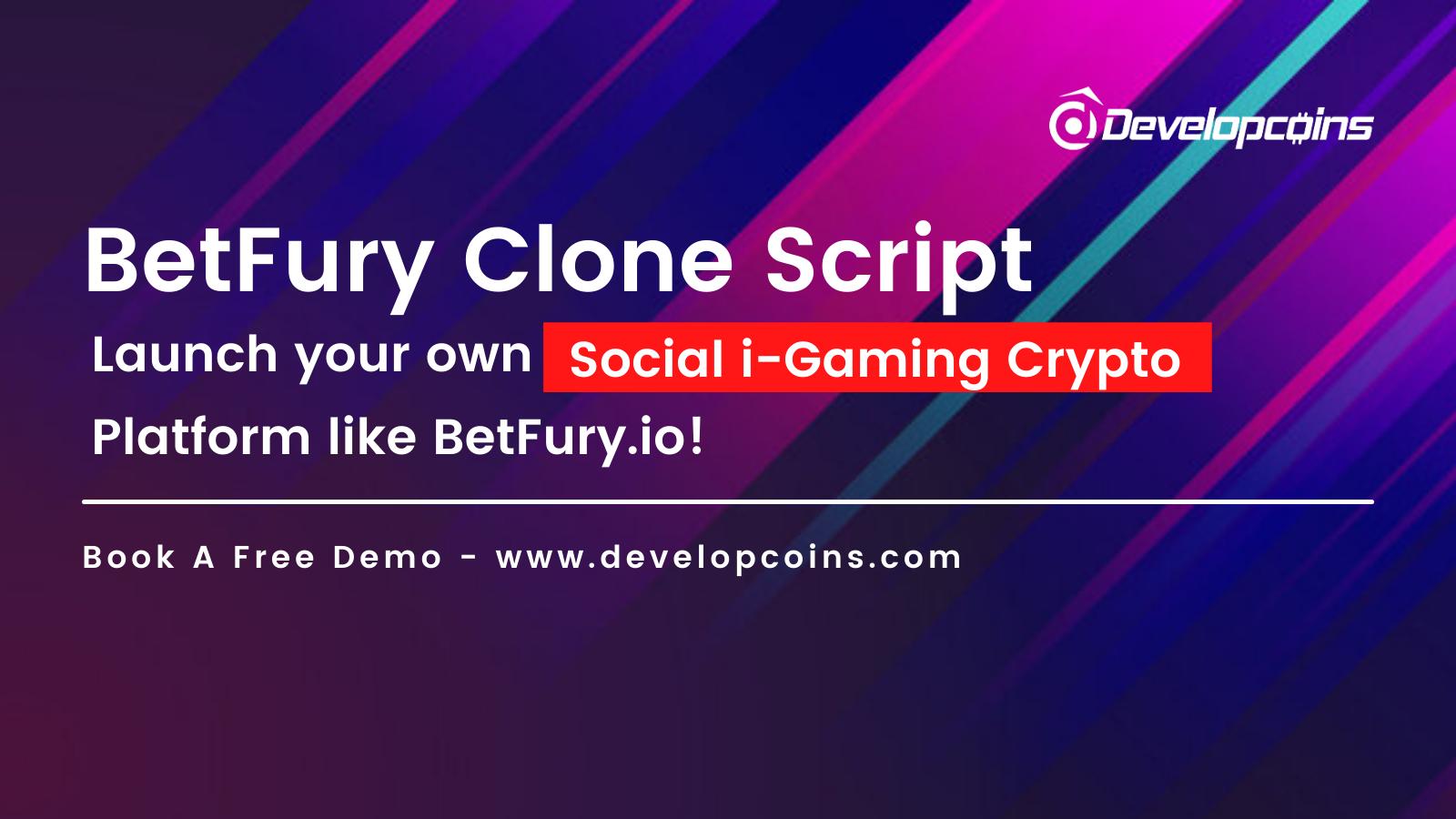 Launch Your Own Social i-Gaming Crypto Platform like BetFury.io
