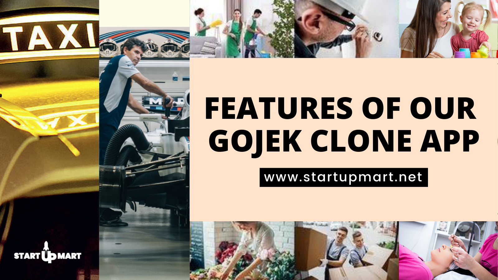 Features of Our Gojek Clone App