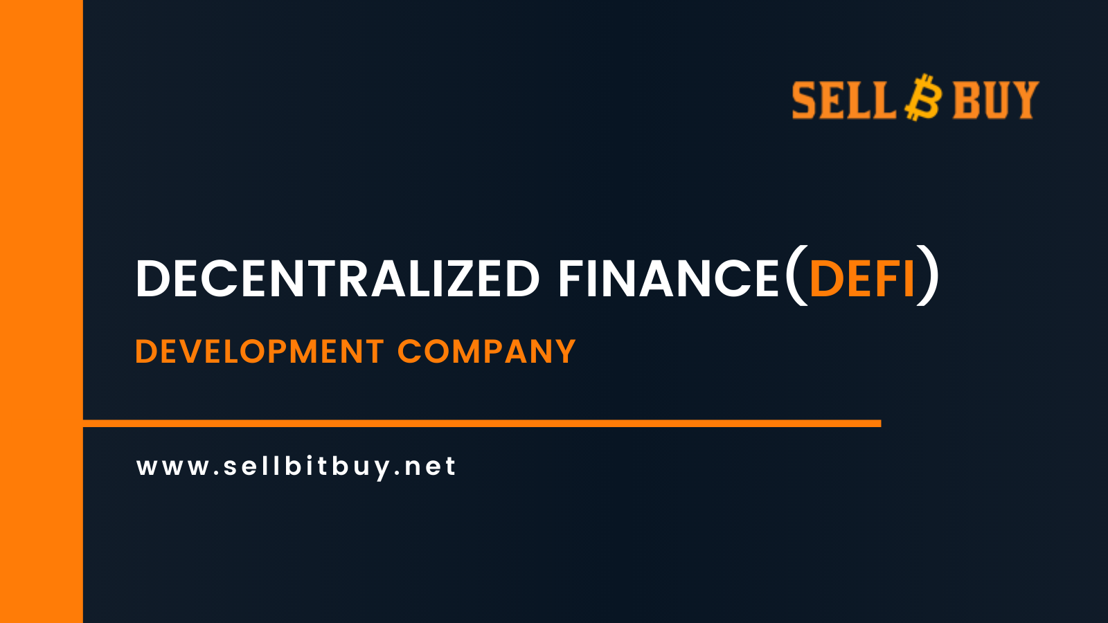 Decentralized Finance (DeFi) Development Company