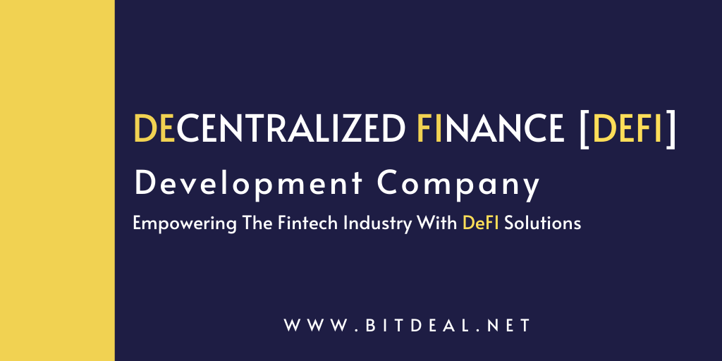 Decentralized Finance (DeFi) Development Company