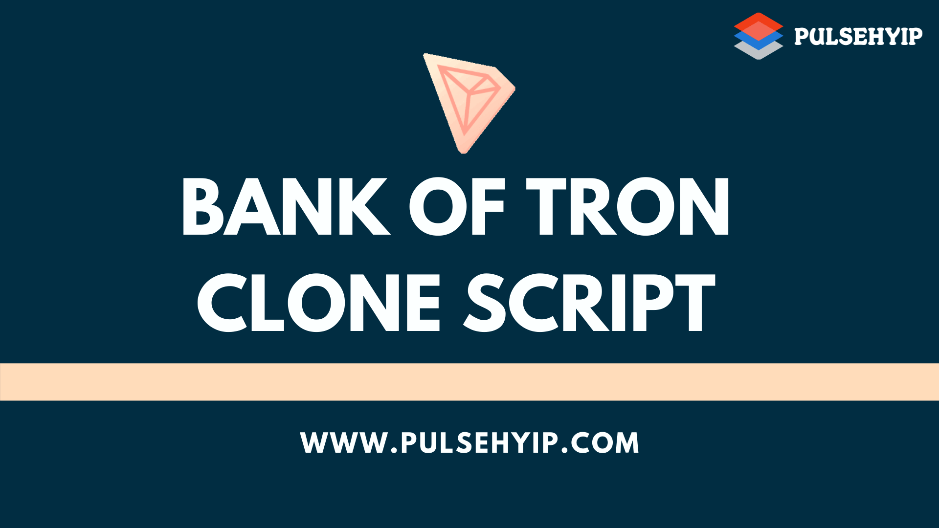 Bank of Tron Clone Script to Launch TRON Smart Contract HYIP like Bank of Tron
