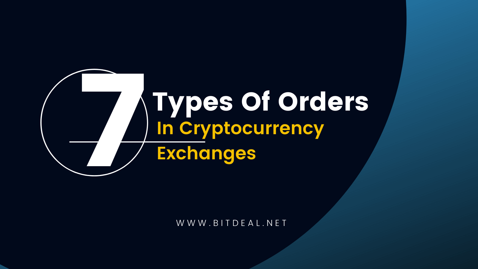 A Complete Guide on Different Types Of Orders in Cryptocurrency Exchanges