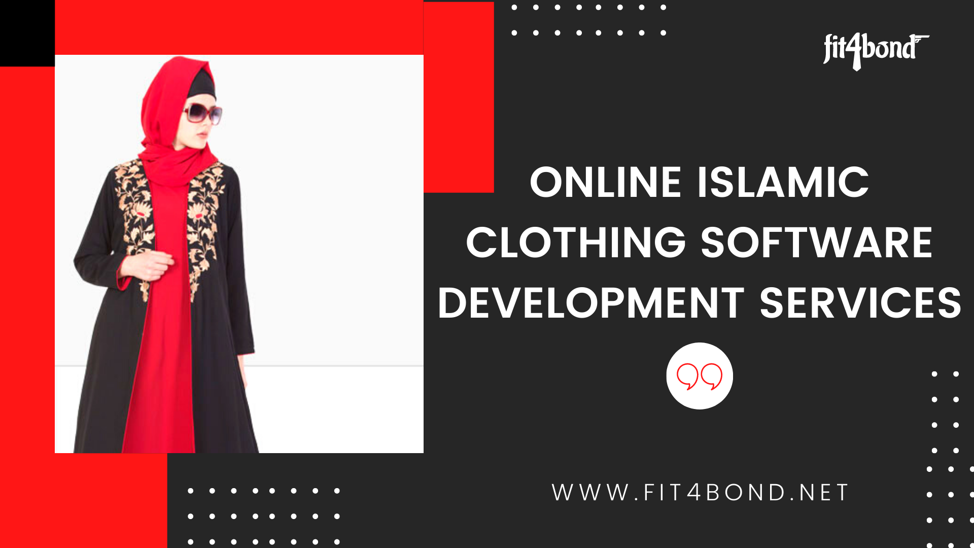 Online Islamic Clothing Software Development Services | Fit4Bond