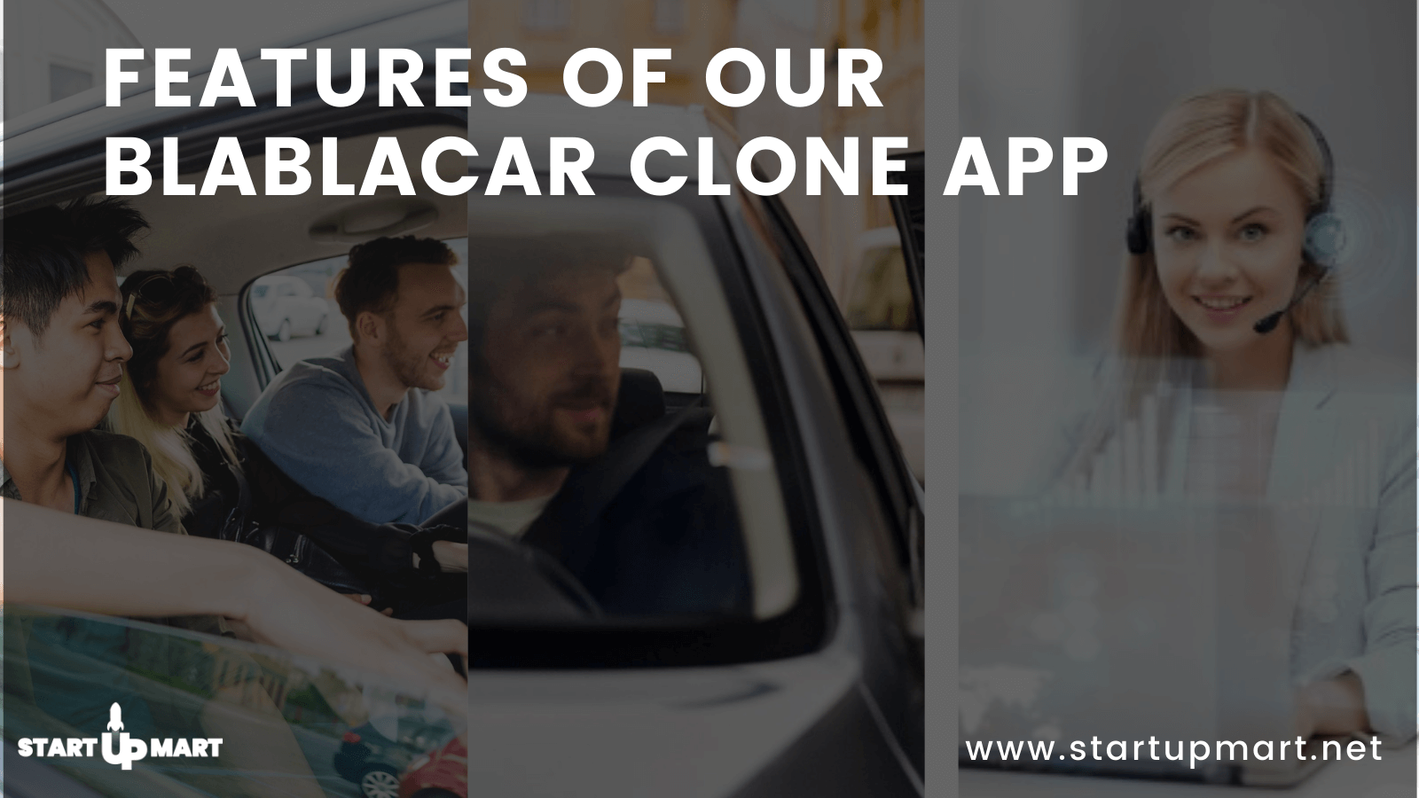 Features Of Our BlaBlaCar Clone App - V2Ride