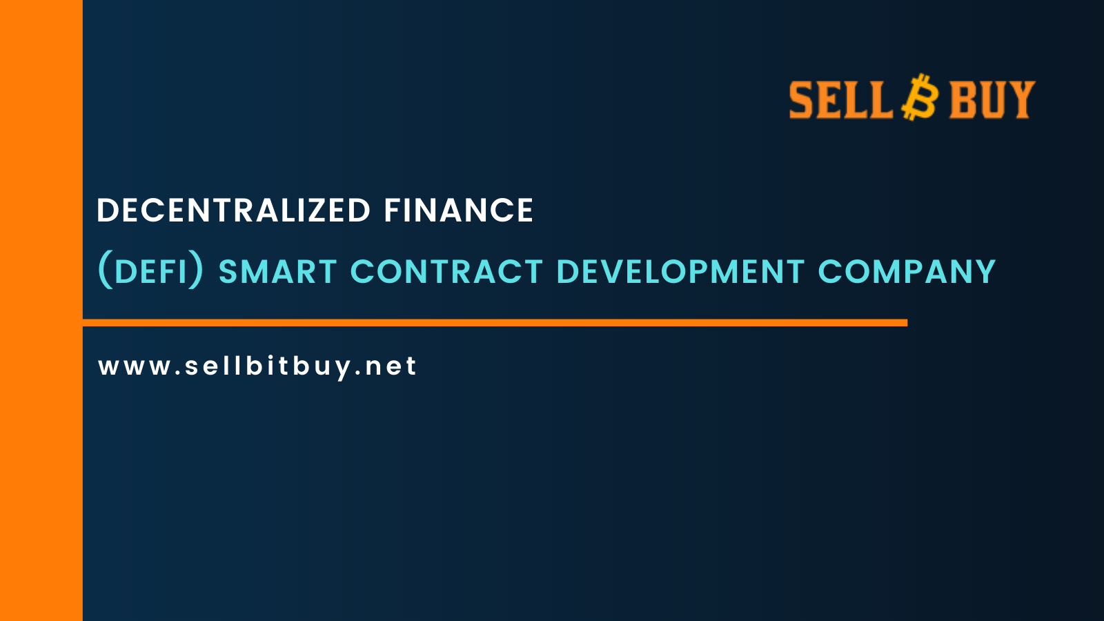 DeFi Smart Contract Development Company