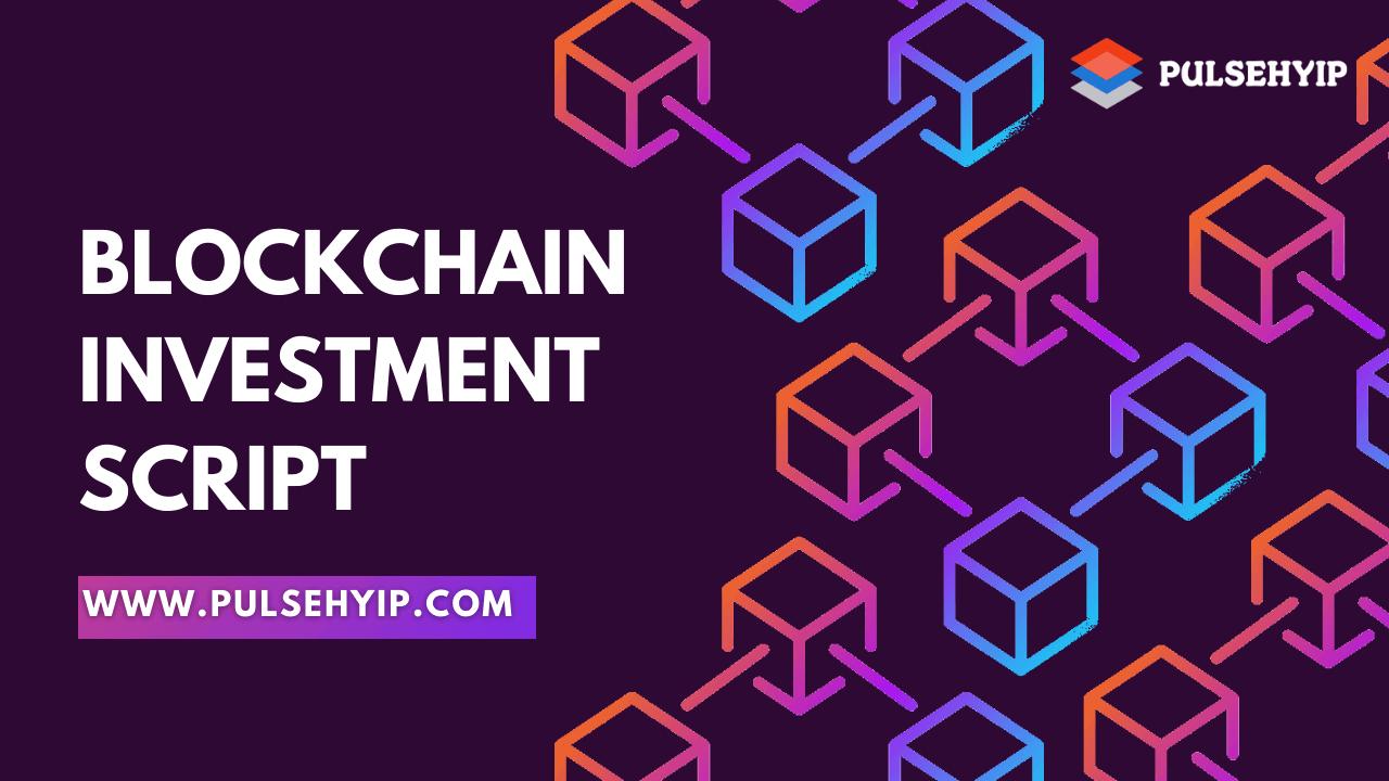 Start Decentralized HYIP Platform with Blockchain Investment Script