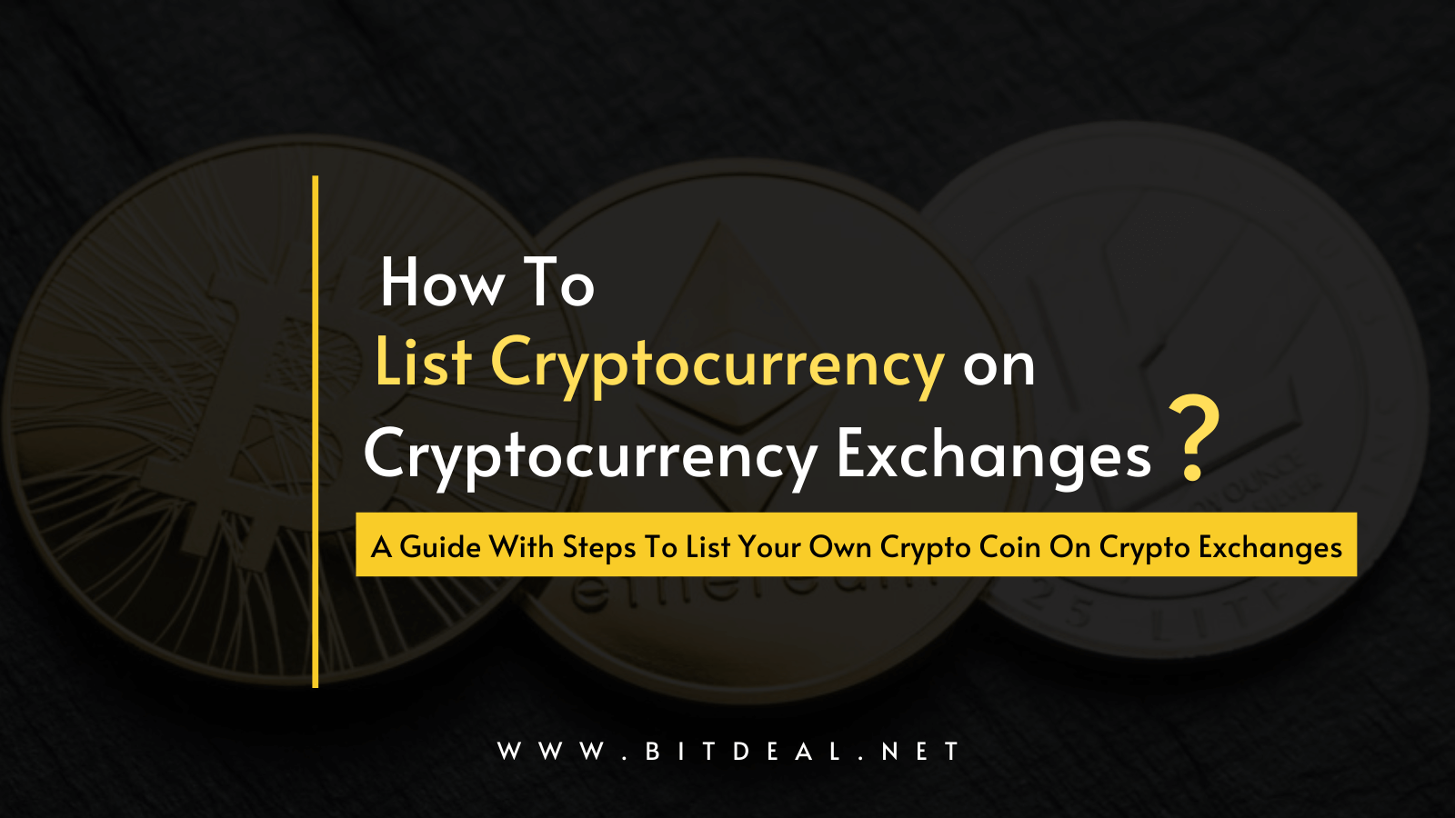 Steps To Build Your Crypto Coin On Exchange Platforms