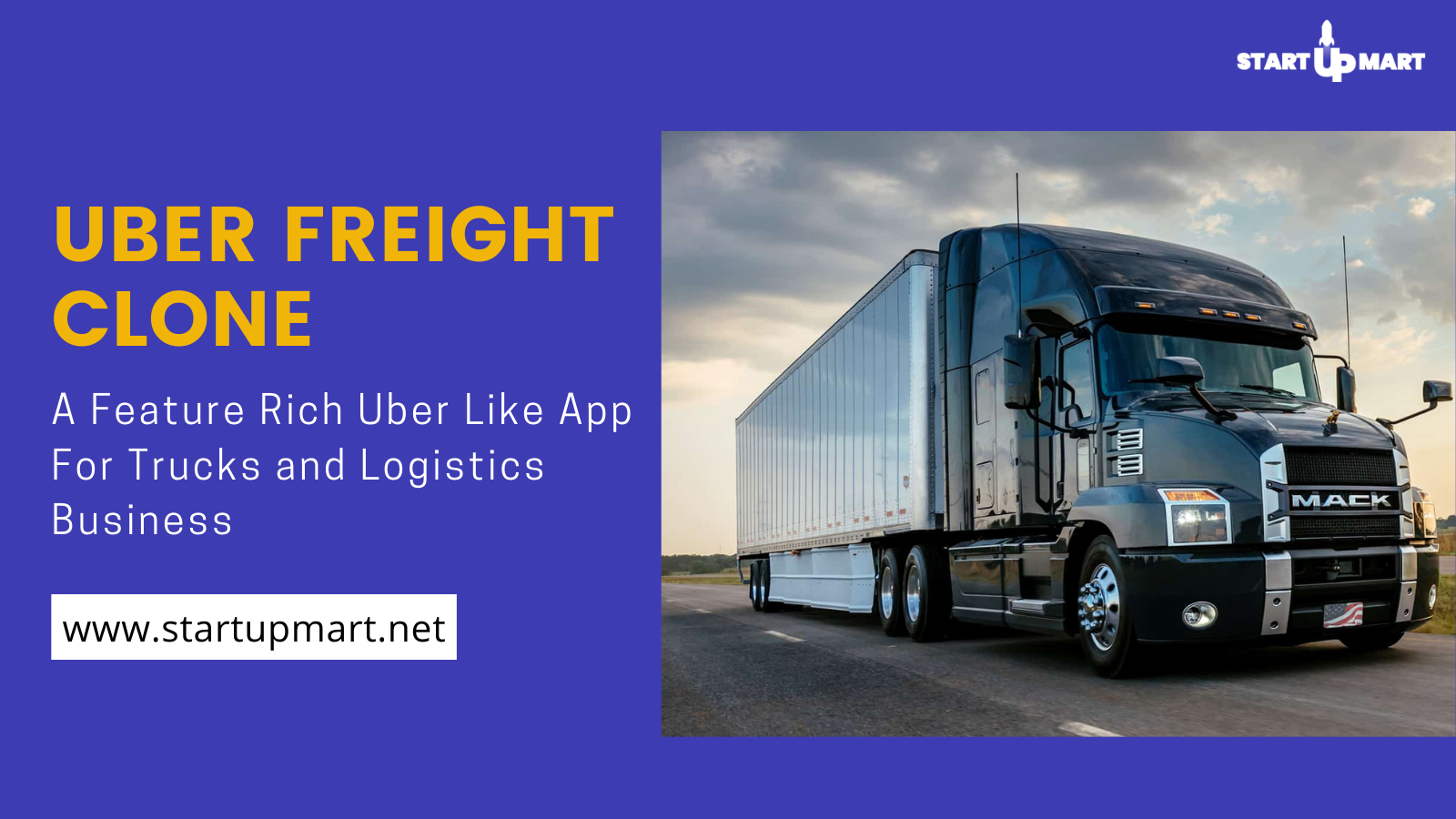 Uber Freight Clone: A Feature Rich Uber Like App For Trucks and Logistics Business