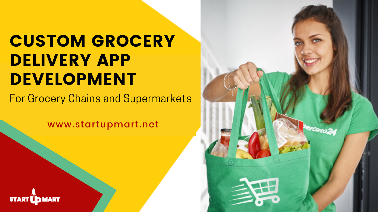 Custom Grocery Delivery App Development For Grocery Chains and Supermarkets