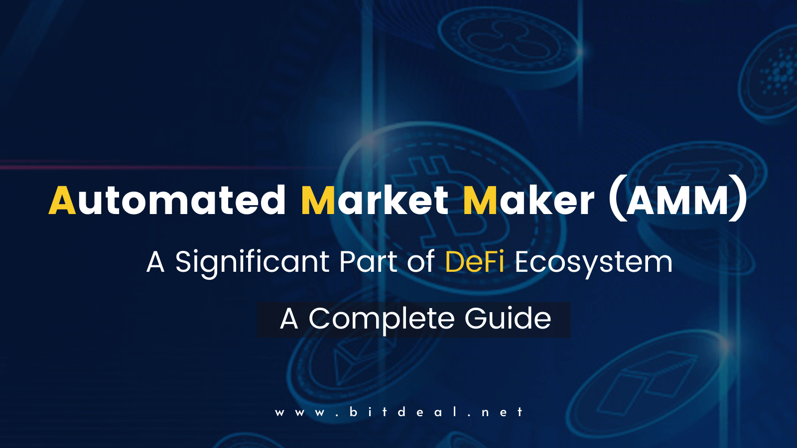 A Brief Introduction to Automated Market Makers (AMM)