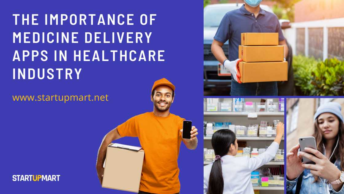 The Importance Of Medicine Delivery Apps In Healthcare Industry