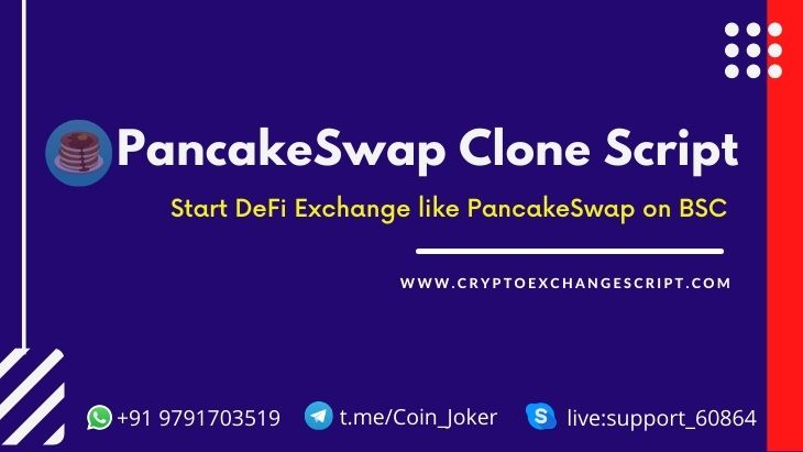 To Create a DeFi Exchange on Binance Smart Chain like Pancakeswap
