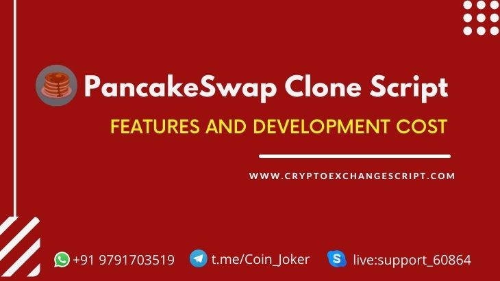 Our Premium Features & Cost to Build DEFI Exchange Like PancakeSwap