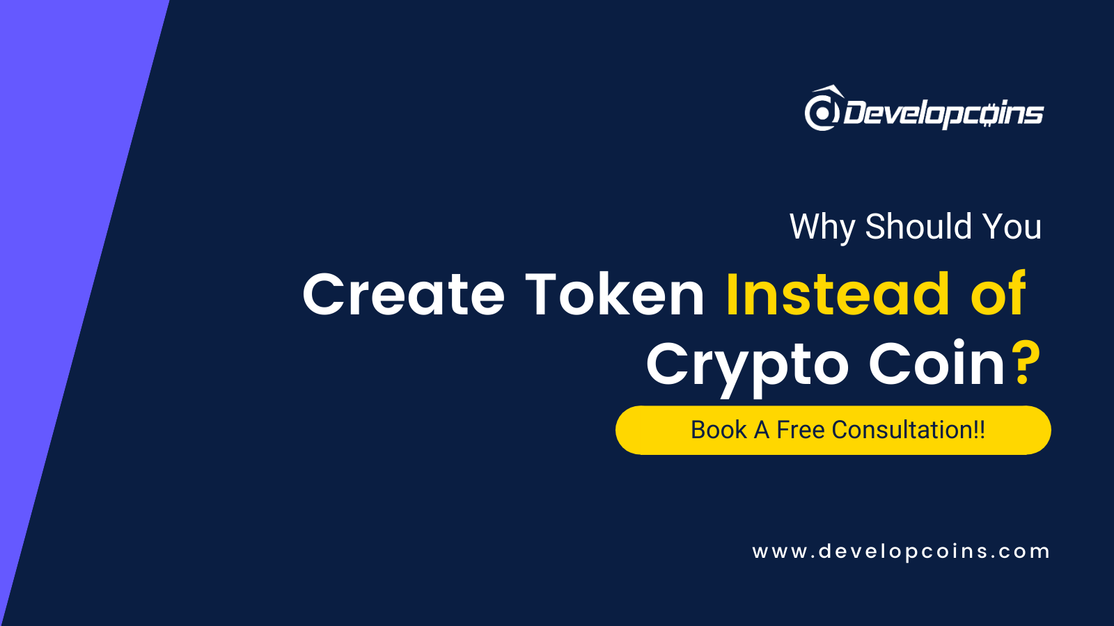 Why Need To Create Crypto Token instead of Coin?