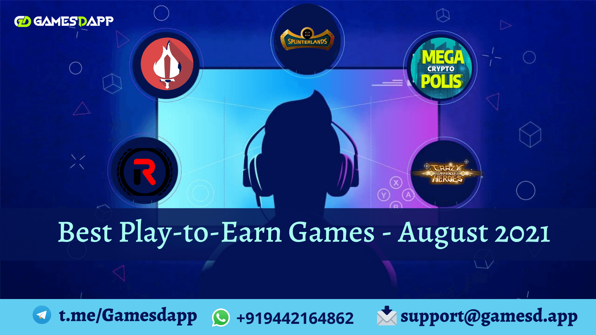 Best Play to Earn Blockchain Games for August 2021