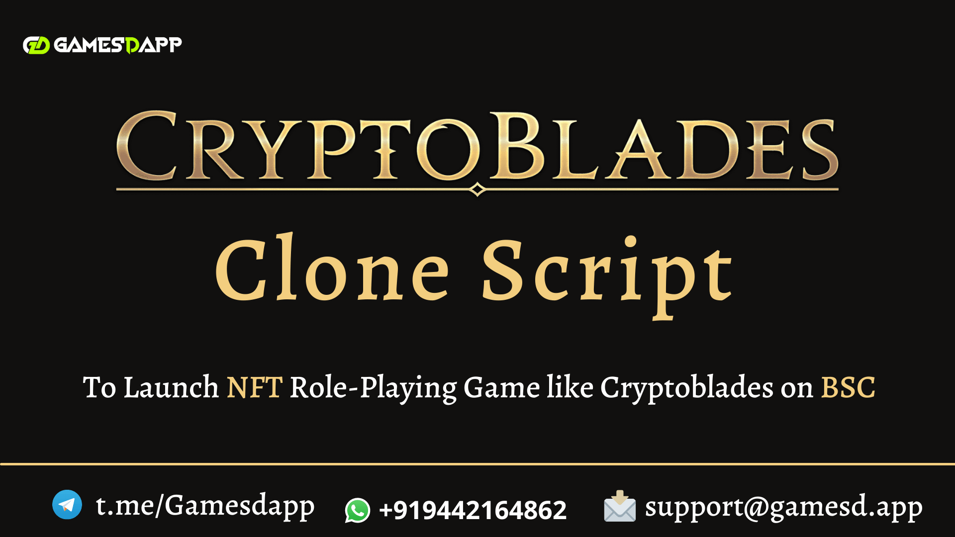 Cryptoblades Clone Script - To Launch NFT Role-Playing Game like Cryptoblades on Binance Smart Chain