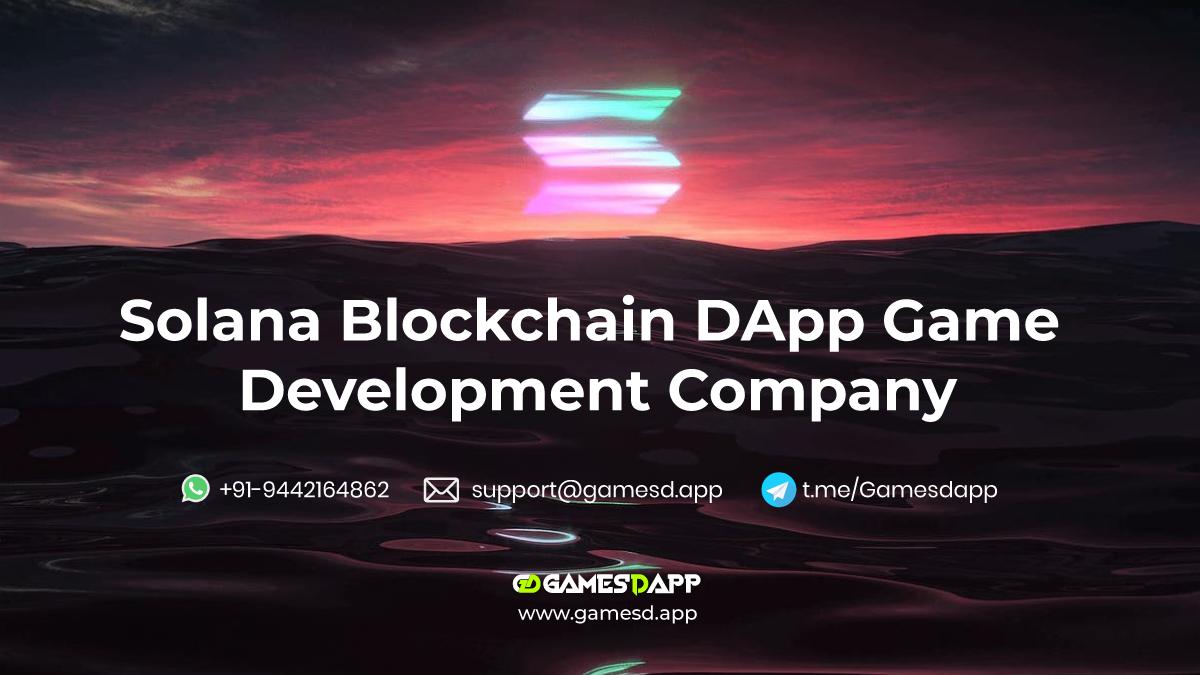 Solana Blockchain Game Development Company - Let's Build A Decentralized Game Using Solana Blockchain Network