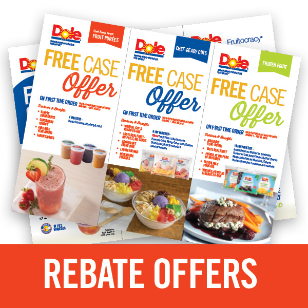 DOLE Rebate Offers