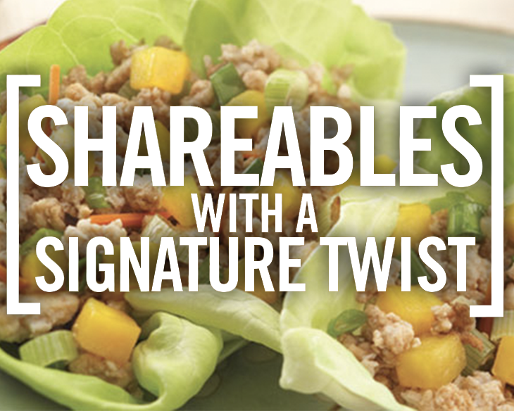 Shareables with a signature twist
