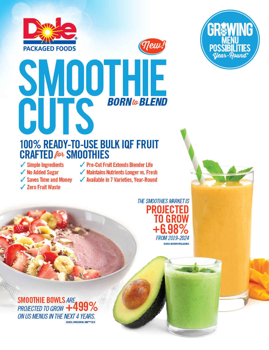 Smoothie cuts