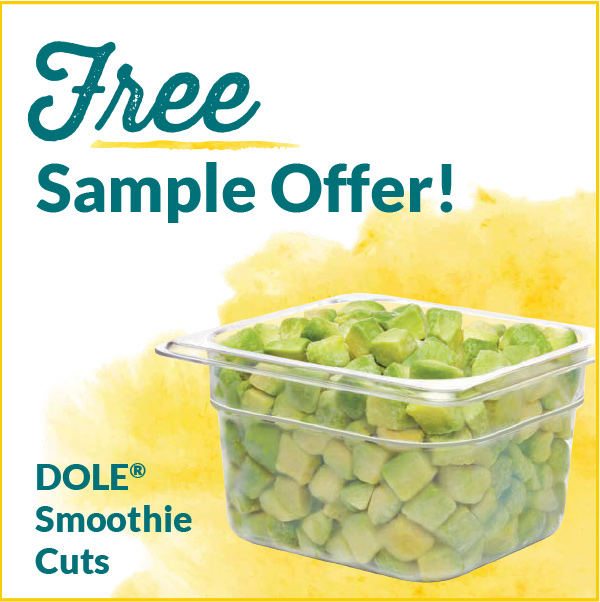 Free Sample Offers Dole Smoothie Cuts