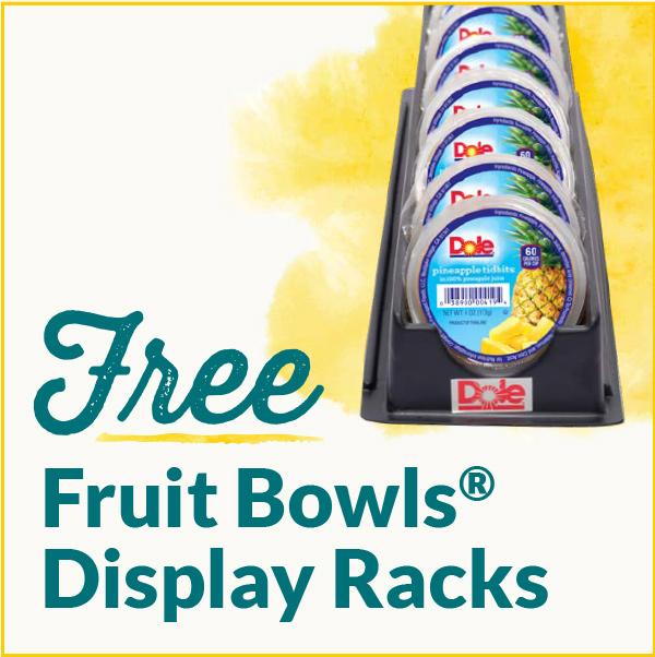 Free Fruit Bowls Display Racks