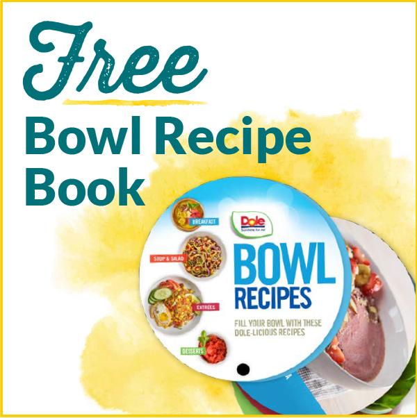 Free Bowl Recipe Book