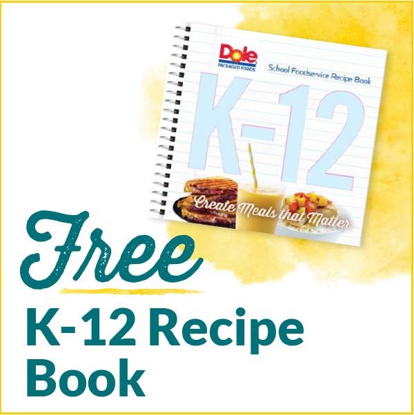 Free K-12 Recipe Book