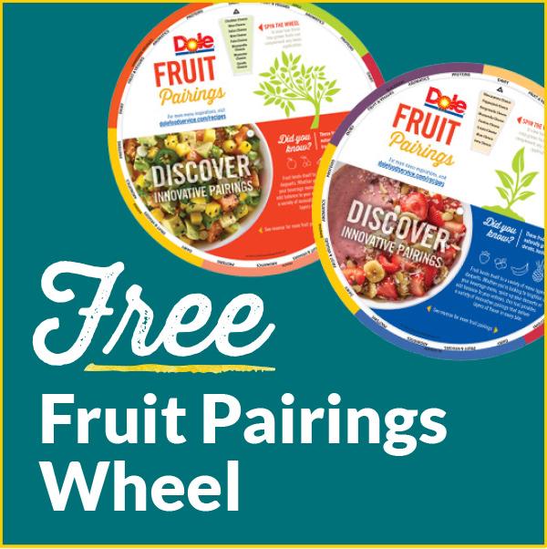 Free Fruit Pairings Wheel