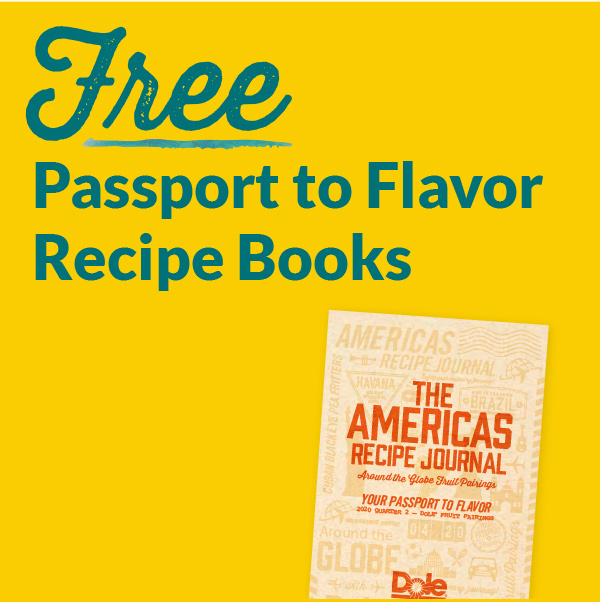 Free Passport to Flavor Recipe Books