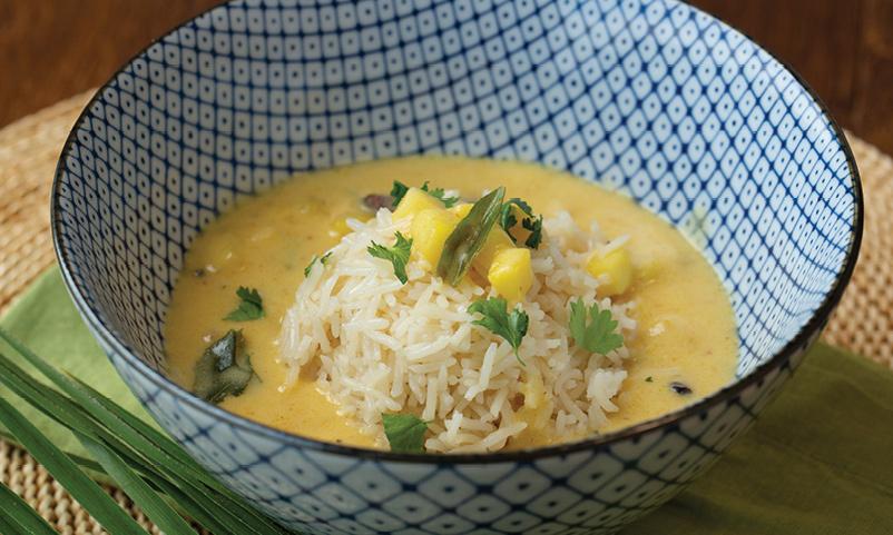Fajeto (Mango Curry Soup)