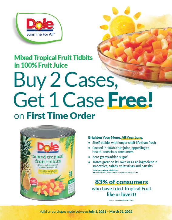 Fruit Bowls Trial Coupon (July 1 - March 31, 2022)