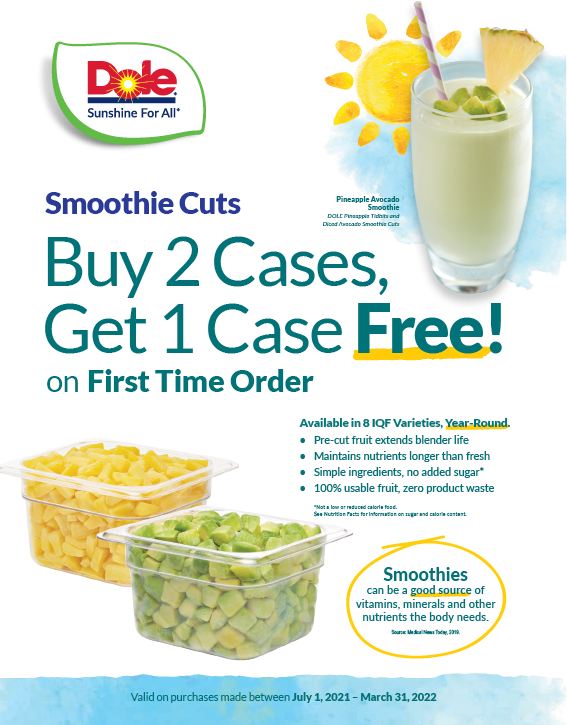 Chef-Ready Cuts Trial Coupon (July 1 - March 31, 2022)
