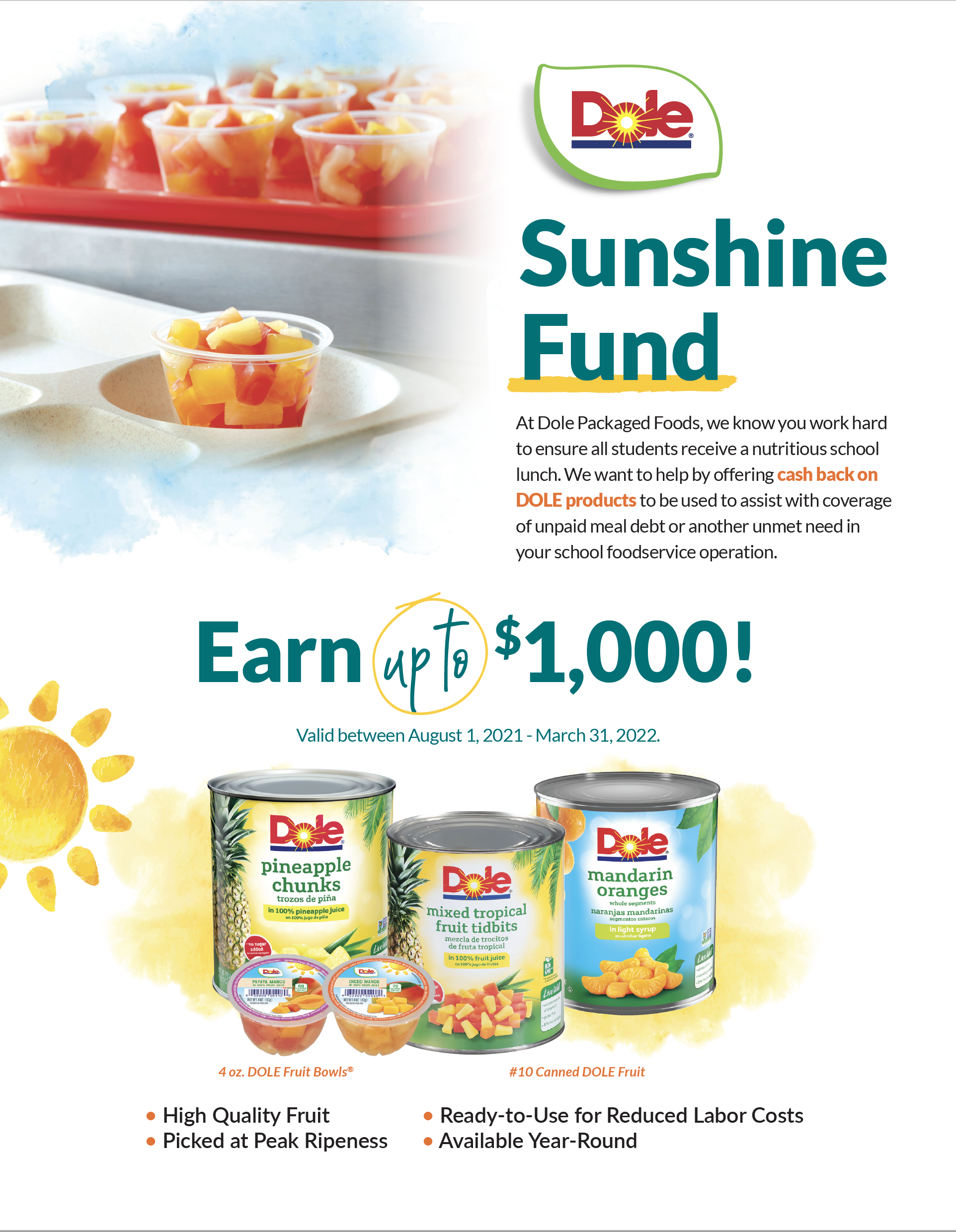Pineapple Juice Trial Coupon (July 1 - March 31, 2022)