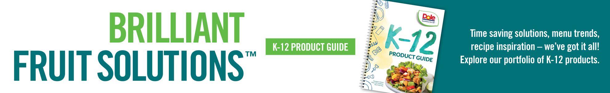 Dole digital brochure touts desktop k12