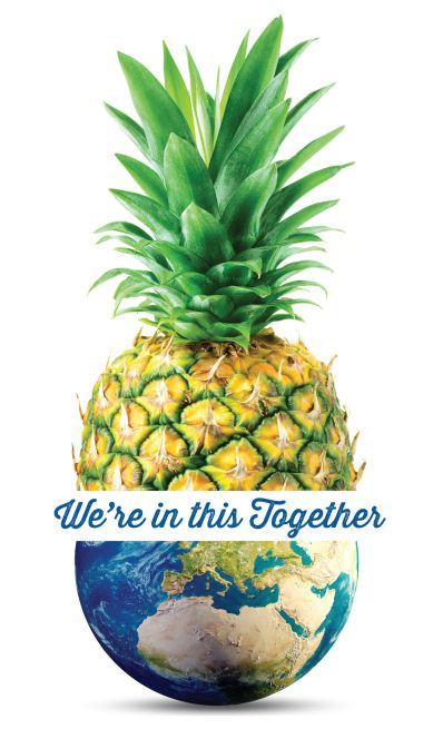 Pineapple together