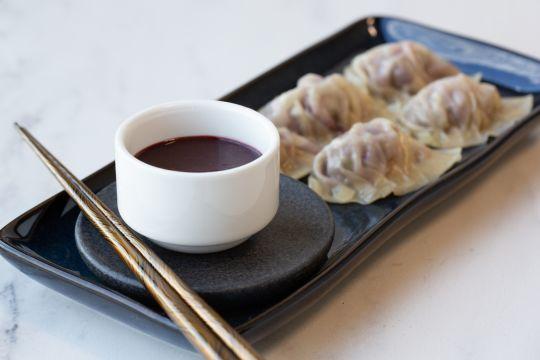 Umeboshi & Blackberry Pork Gyoza