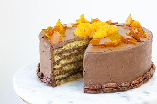 Dobos Torta (Cake)