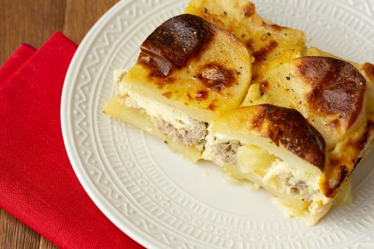 Pork and Potato Moussaka