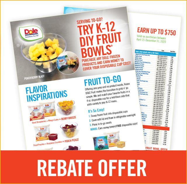 Rebate offer