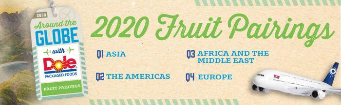 2020 Fruit Pairings