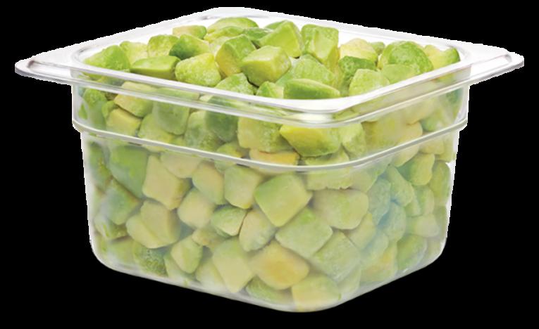 Smoothie cuts avocado