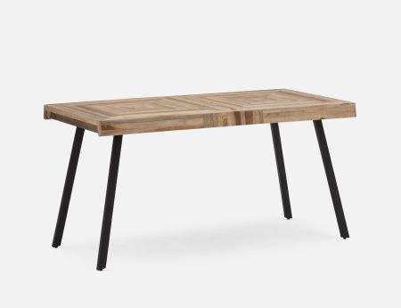 Zak Recycled Teak Dining Table 150cm 59 Structube