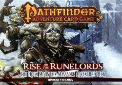 Pathfinder Adventure Card Game: Rise of the Runelords – The Hook Mountain Massacre Adventure Deck