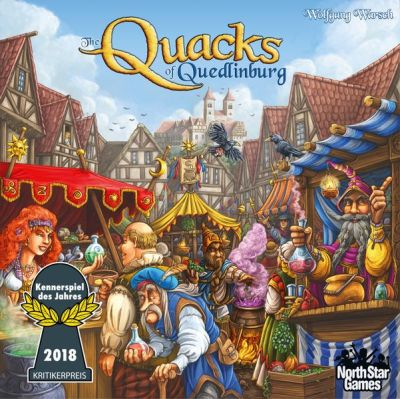The Quacks of Quedlinburg Board Game