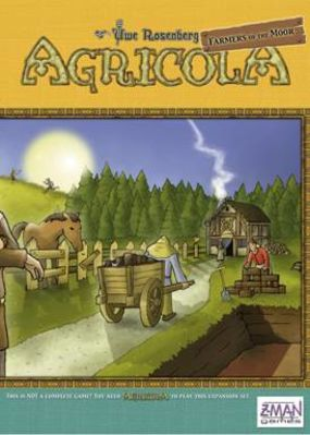 Agricola: Farmers of the Moor Board Game