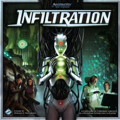 Android: Infiltration Board Game